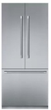 "T36BT920NS Thermador 36"" Freedom Collection Professional Series Handle Counter Depth French Door Refrigerator with ThermaFresh System and SoftClose - Stainless Steel"