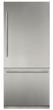 "T36IB900SP Thermador 36"" Freedom Collection Built-In Bottom Mount Refrigerator with ThermaFresh System and SoftClose - Custom Panel"