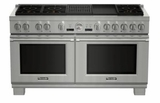 "Thermador Dual Fuel Range - 60"" Wide"