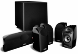 TL1600 Polk Audio 6-Piece Compact Home Theater System with Powered Subwoofer