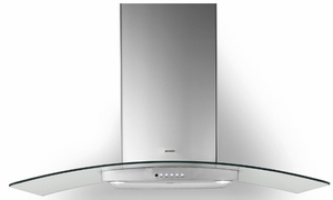 """TRAT30SS600B Faber 36"""" Tratto Wall Range Hood with Backlit Electronic Controls and 600 CFM - Stainless Steel"""