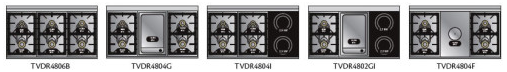 TVDR4802GISS Viking Tuscany 48 Inch Pro-Style Dual Fuel Range with 2 20,000 BTU Gas Burners, Griddle and 2 Induction Elements - Natural Gas - Stainless Steel