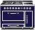 TVDR4804FDB Viking Tuscany 48 Inch Pro-Style Dual Fuel Range with 4 20,000 BTU Gas Burners, French Top and 3.8 cu. ft. Convection Oven - Natural Gas - Dark Blue