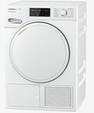 "TWF160WP Miele 24"" Heat Pump Tumble Dryer with EcoDry Technology and FragranceDos - White"