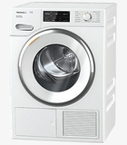 "TWI180WP Miele 24"" Heat Pump Tumble Dryer with SteamFinish and FragranceDos - White"