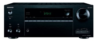 TXNR656 Onkyo 7.2 Channel Network A/V Reciever with Dolby Atmos and DTS:X - Black