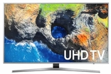 """UN65MU7100 Samsung 65"""" UHD 4K HDR Smart LED TV with - 120 Motion Rate and 4K Color Drive - Silver"""