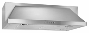 UXT5536AAS Whirlpool 36-Inch Convertible Under-Cabinet Hood with 400CFM Blower - Stainless Steel