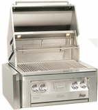 "VBQ30G Vintage 30"" Gold Built-in Grill - Natural Gas - Stainless Steel"