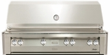 "VBQ56G Vintage 56"" Gold Built-in Grill - Natural Gas - Stainless Steel"