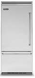 "VCBB5363EL Viking 36"" Professional Bottom Mount Refrigerator with ProChill Temperature Management - Left Hinge - Stainless Steel"