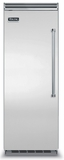"VCFB5303LSS Viking Professional 30"" All Freezer with ProChill Temperature Management & Icemaker - Left Hinge - Stainless Steel"