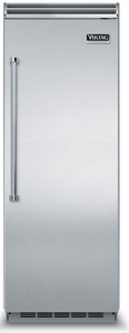 """VCFB5303RSS Viking Professional 30"""" All Freezer with ProChill Temperature Management & Icemaker - Right Hinge - Stainless Steel"""