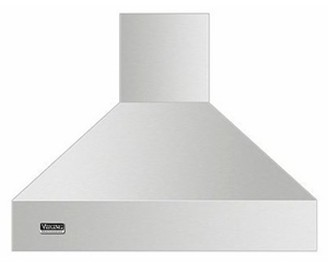 "VCIH53608SS Viking Professional 5 Series 36"" Wide 18"" High Chimney Island Hood - Stainless Steel"