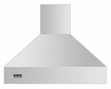 """VCIH53608SS Viking Professional 5 Series 36"""" Wide 18"""" High Chimney Island Hood - Stainless Steel"""