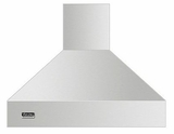 """VCIH56608SS Viking Professional 5 Series 66"""" Wide 18"""" High Chimney Island Hood - Stainless Steel"""
