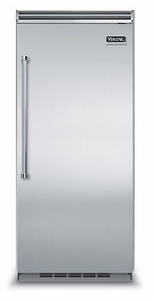 "VCRB5363RSS Viking Professional 5 Series QuietCool Built In 36"" All Refrigerator (Right Hinge) - Stainless Steel"