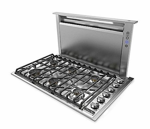 """VDD5360SS Viking 36"""" Built In Professional 5 Series Downdraft Ventilation System - Stainless Steel"""