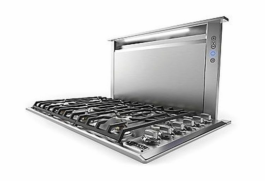 Vdd5480ss viking 48 built in professional 5 series for Kitchen range with downdraft ventilation