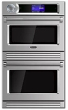 "VDOT730SS Viking 30""  TurboChef 7 Series Electric Double Wall Oven with 7 Cook Modes and Airspeed Technology - Stainless Steel"