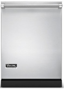 "VDW302SS Viking Professional 24"" Fully Integrated Dishwasher with 6 Wash Cycles and Turbo Fan Dry - Stainless Steel"