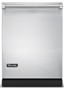 "VDW302WSSS Viking Professional 24"" Fully Integrated Dishwasher with Multi-Level Power Wash and Turbo Fan Dry - Stainless Steel"