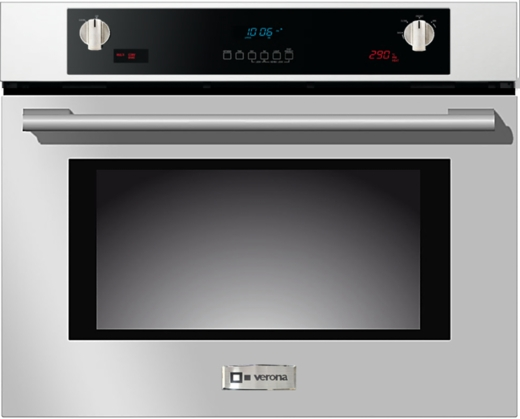 "VEBIEM3024SS Verona 30"" Electric Self Cleaning Wall Oven - Stainless Steel"