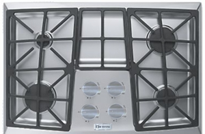 "VECTGV304SS Verona 30"" Gas 4 Burner Cooktop with Front Controls - Stainless Steel"
