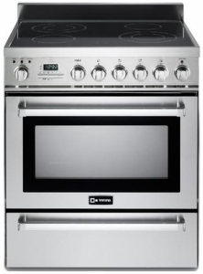 "VEFSIE304PSS Verona 30"" Freestanding Induction Range with 4 Cooking Zones - Stainless Steel"