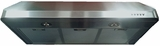 "VEHOOD3610 Verona 36"" Under Cabinet Range Hood with 600 CFM Blower - Stainless Steel"