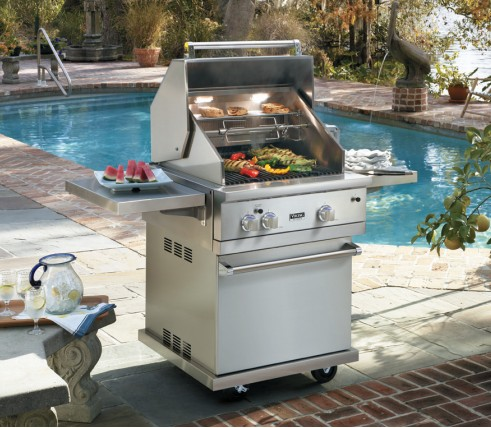 Vgbq53024lss viking professional 5 series 30 ultra for Viking professional outdoor grill