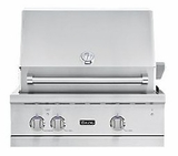 "VGBQ53024NSS Viking Professional 5 Series 30"" Ultra-Premium Built-in Gas Grill - Natural Gas - Stainless Steel"