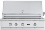 "VGBQ54224LSS Viking Professional 5 Series 42"" Ultra-Premium Built-in Gas Grill - LP Gas - Stainless Steel"