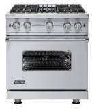 "VGCC5304BSS Viking 30"" Custom Sealed Burner Pro Style Range -  Natural Gas - Stainless Steel"