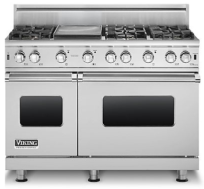 6 burner gas commercial stove viking custom sealed pro style range burners griddle stainless steel with grill nxr 36 in professional review