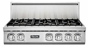 "VGRT7366BSS Viking Professional 7 Series 36"" Gas Rangetop - 6 Burners -  Natural Gas - Stainless Steel"