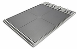"""VICU53014BST Viking 30"""" Professional 5 Series Electric Radiant 4 Element Cooktop with MagnaQuick & Power Management Sytem - Stainless Steel with TransMetallic Glass"""