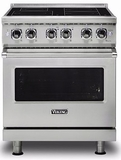 """VIR5304BSS Viking 30"""" Free Standing Induction Range with MagneQuick and RapidReady Preheat - Stainless Steel"""