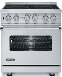 """VISC5304BSS Viking 30"""" Electric Induction Self-Clean Freestanding Range - Stainless Steel"""