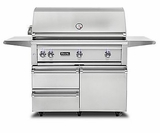 "VQGFS5420NSS Viking 42"" Professional 5 Series Natural Gas Freestanding Grill and Cartl with ProSear Burner and Rotisserie - Stainless Steel"