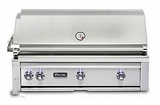"VQGI5420NSS Viking Professional 5 Series 42"" Natural Gas Built-In Grill with ProSear Burner and Rotisserie - Stainless Steel"