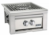"""VQGSB5200LSS Viking 20"""" Professional 5 Series Liquid Propane Power Burner with Blue LED Illumination and Hot Surface Ignition - Stainless Steel"""