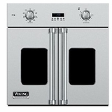 "VSOF730SS Viking Professional 7 Series 30"" Built-in French Door Oven with Vari-Speed Convection - Stainless Steel"