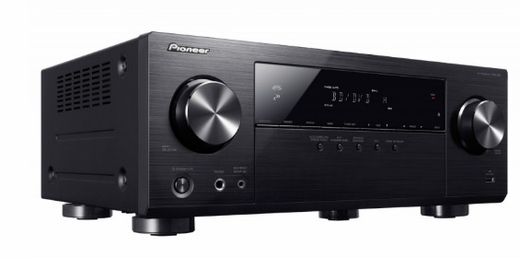 VSX531 Pioneer 5.1 Channel A/V Reciever with Bluetooth Connectivity and 4k UltraHD Compatibility - Black