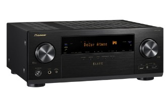 VSXLX301 Pioneer 7.2 Channel Network A/V Reciever with 4k Ultra HD Upscaling and Pass-Through - Black