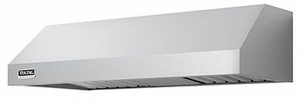 """VWH3010MSS Viking 30"""" Wide 10"""" High Wall Mount Hood with 300 CFM Interior Power Ventilator - Stainless Steel"""