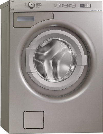 W6424T Asko Energy Star Family Size Front Load Washer - Titanium