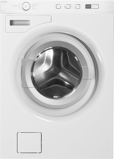 W6424W Asko Energy Star Family Size Front Load Washer - White