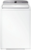 "WA3927G1 Fisher Paykel 27"" Top Load Washer with 3.9 cu. ft. Capacity and 6 Wash Cycles - White"