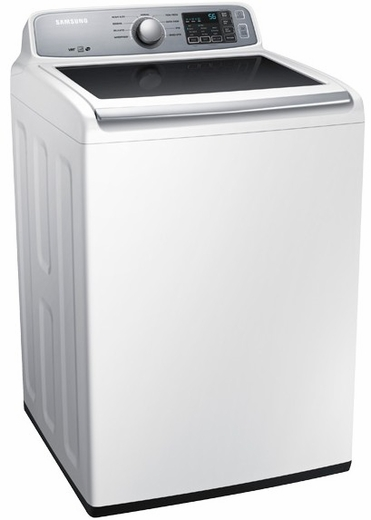 WA45H7000AW Samsung 4.5 cu. ft. Capacity Top Load Washer with VRT & Self Clean - White